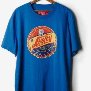 Lucky Brand Totally Lucky Bottlecap T-Shirt